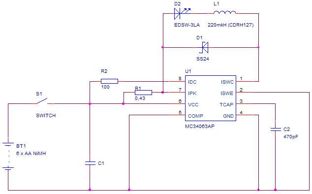 Схема на MC34063 интерестная